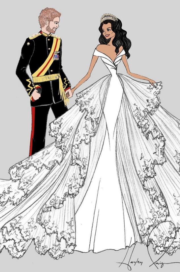 71c5547d0d1 Cвадебное платье Меган Маркл от Givenchy - читайте в блоге салона Аврора