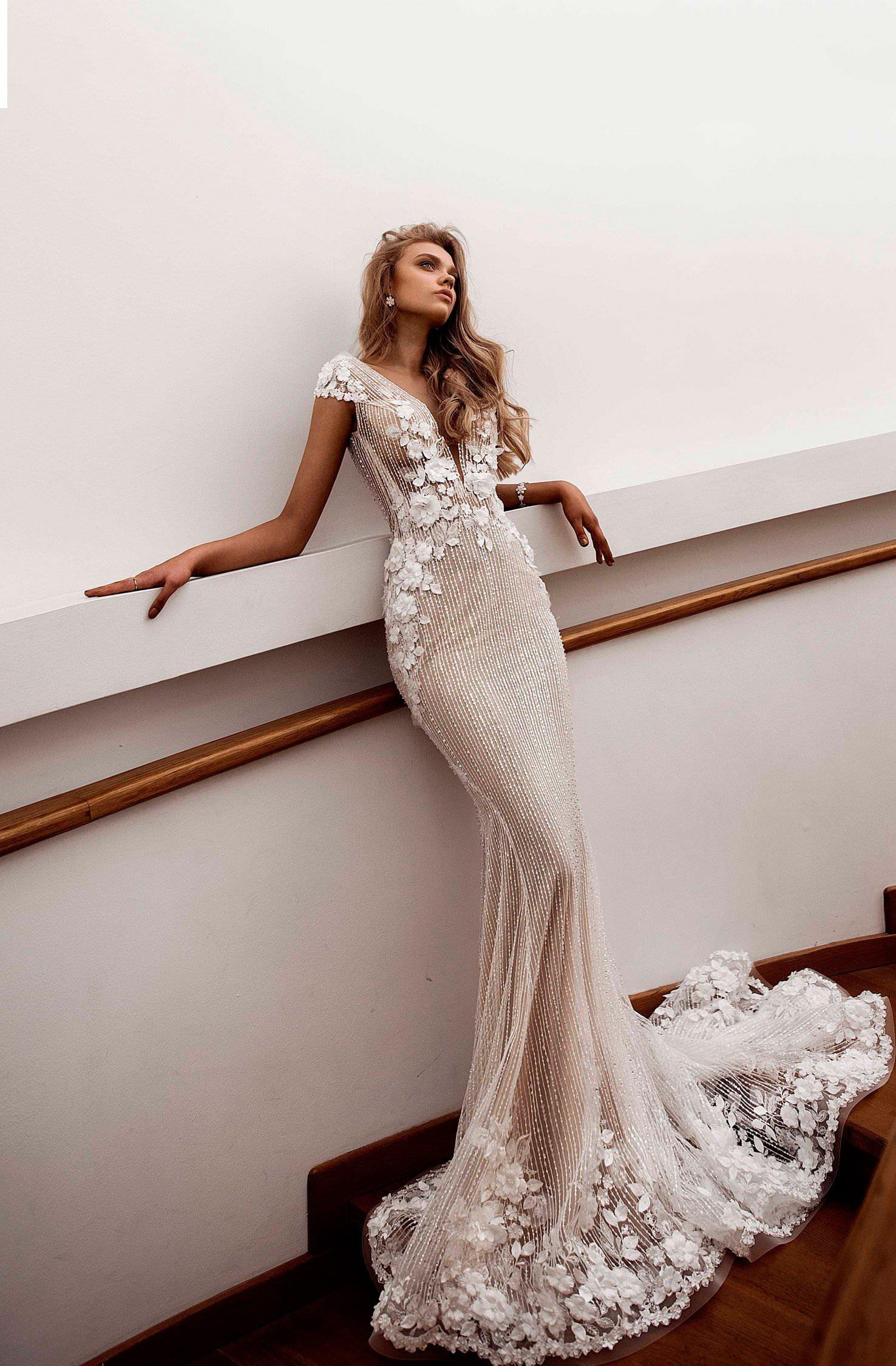 1af7c259b9b Свадебное платье рыбка (русалка) - купить в салоне Аврора в Москве и ...