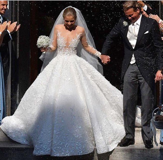 Розовое Свадебное Платье, Красивые Пышные Модели Цвета Розовый ... | 636x650
